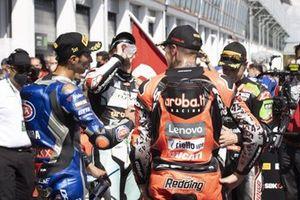 Toprak Razgatlioglu, PATA Yamaha WorldSBK Team, Chaz Davies, Team GoEleven, Scott Redding, Aruba.It Racing - Ducati, Jonathan Rea, Kawasaki Racing Team WorldSBK
