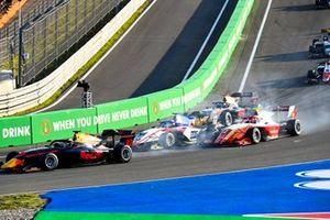 Jak Crawford, Hitech Grand Prix, Logan Sargeant, Charouz Racing System, Arthur Leclerc, Prema Racing