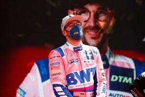 Podium: Race winner Maximilian Götz, Haupt Racing Team