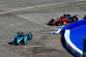 Mitch Evans, Jaguar Racing, Jaguar I-TYPE 5, Sebastien Buemi, Nissan e.Dams, Nissan IMO3