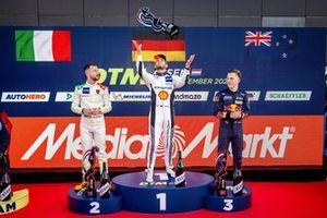 Podium: 1. Marco Wittmann, 2. Mirko Bortolotti, 3. Liam Lawson