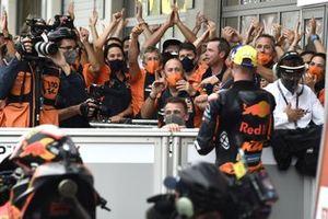 Red Bull KTM Factory Racing team members celebrate