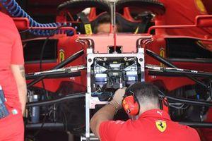 Ferrari SF21 front detail