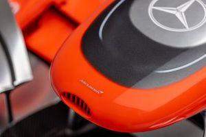Detail photo of Jenson Button's 2011 McLaren F1 MP4-26