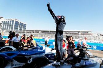 Le vainqueur Sébastien Buemi, Nissan e.Dams, Nissan IMO1