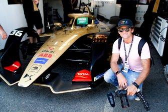 Casey Neistat avec Andre Lotterer's, DS TECHEETAH, DS E-Tense FE19