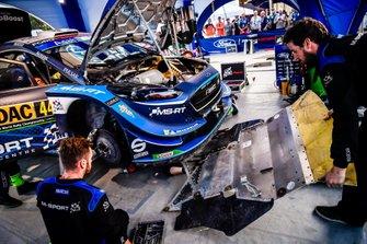 Гас Гринсмит и Эллиот Эдмондсон, M-Sport Ford WRT, Ford Fiesta WRC