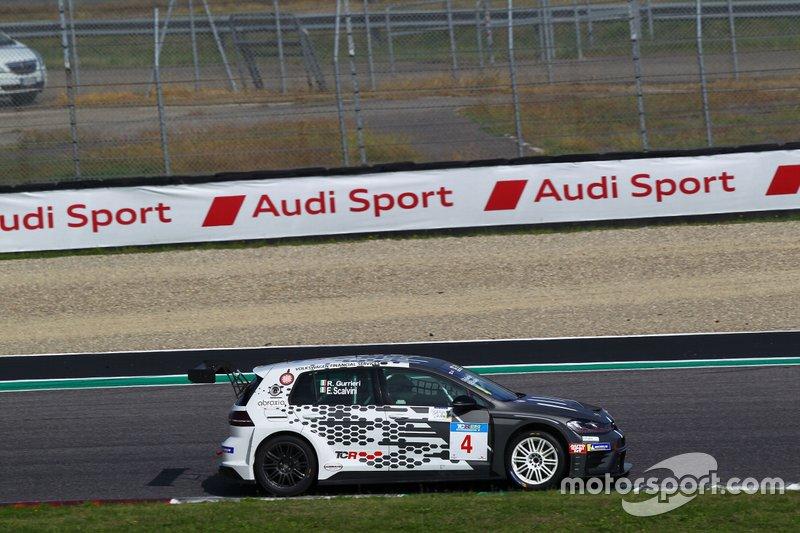 Raffaele Gurrieri, Eric Scalvini, Scuderia del Girasole by Volkswagen Motorsport, Volkswagen Golf GTI TCR