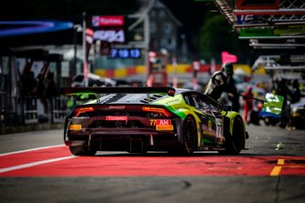 #77 Barwell Motorsport Lamborghini Huracan GT3 2019: Adrian Amstutz, Leonid Matchiski, Patrick Kujala, Richard Abra