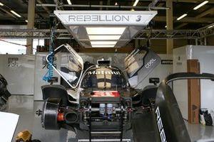 #3 Rebellion Racing - Rebellion R13 - Gibson: Loic Duval, Pipo Derani, Nathanael Berthon