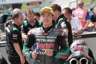Segundo clasificado Ayumu Sasaki, SIC Racing Team