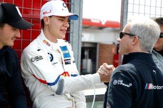 Sheldon van der Linde, BMW Team RBM con Jens Marquardt, BMW Motorsport Director