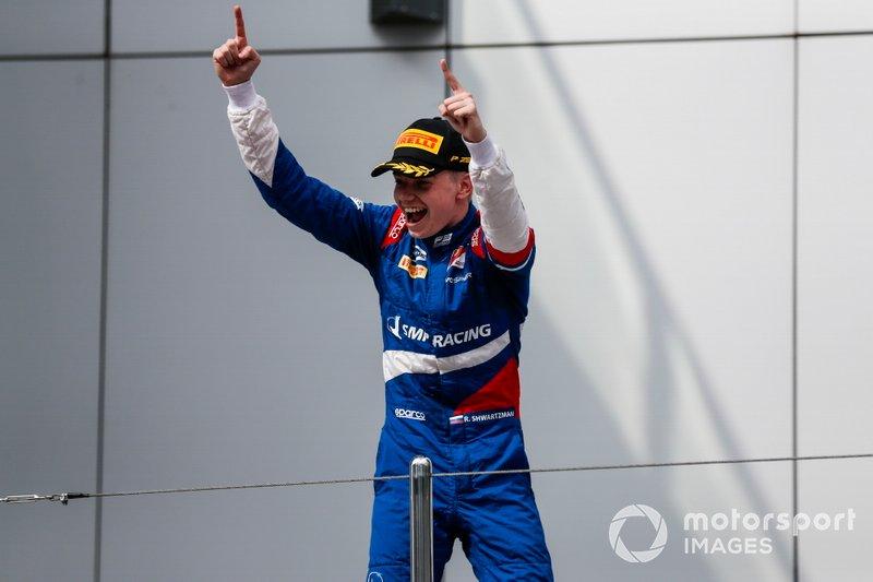 El campeón de la FIA F3 2019, Robert Shwartzman, PREMA Racing