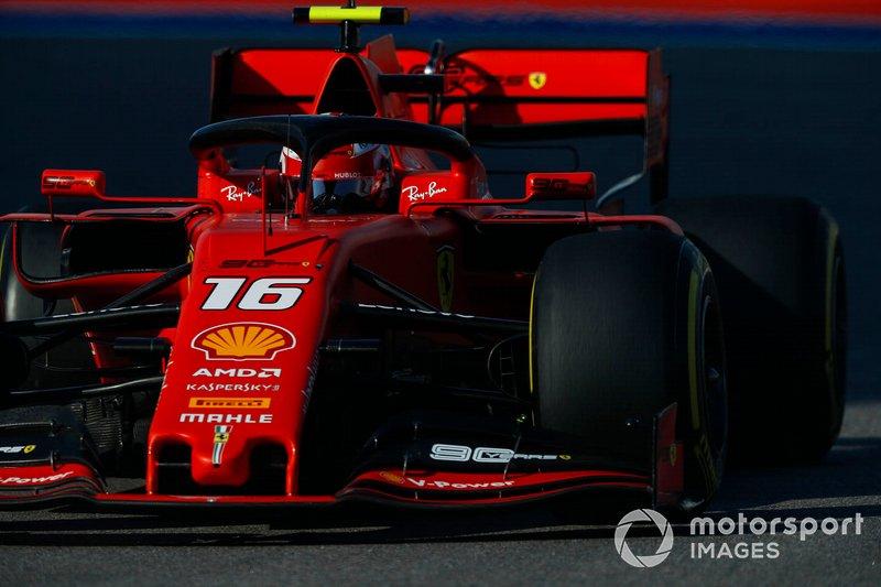 1º: Charles Leclerc, Ferrari SF90