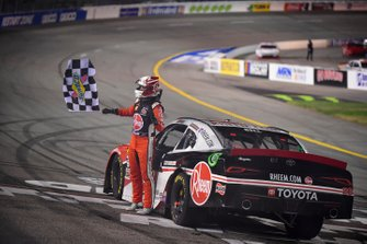Race Winner Christopher Bell, Joe Gibbs Racing, Toyota Supra