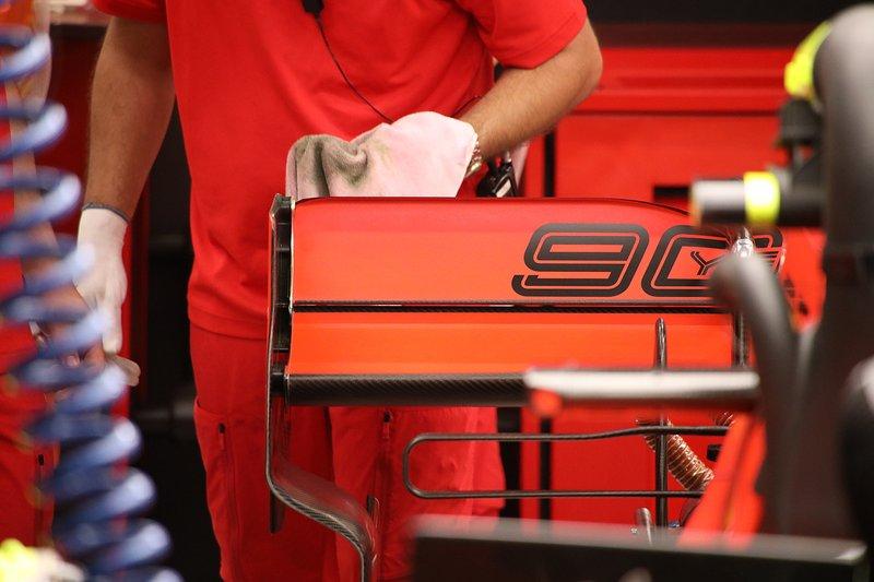 Aileron arrière de la Ferrari SF90