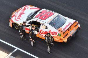 Race Winner Kyle Busch, Joe Gibbs Racing, Toyota Supra