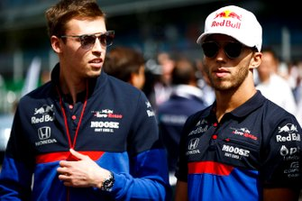 Daniil Kvyat, Toro Rosso and Pierre Gasly, Toro Rosso