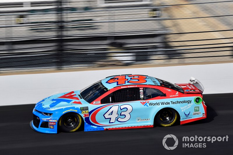 3. Darrell Wallace Jr., Richard Petty Motorsports, Chevrolet Camaro