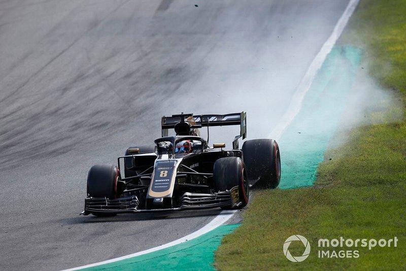 Fue la última carrera donde el equipo sumó. Ni en Hungría, ni en Bélgica ni en Italia sus pilotos acabaron en el top 10