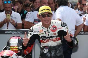 Yarış galibi Tatsuki Suzuki, SIC58 Squadra Corse