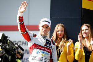 Podium: second place Robin Frijns, Audi Sport Team Abt Sportsline