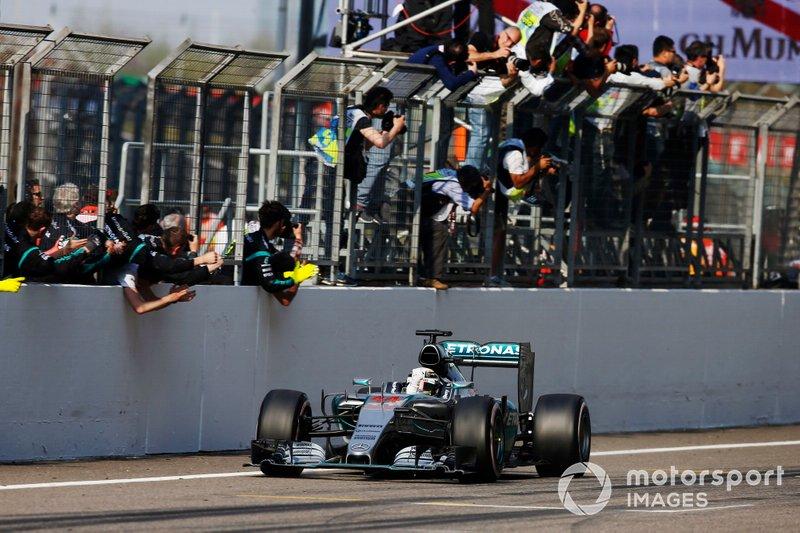 Ganador Lewis Hamilton, Mercedes F1 W06 Hybrid