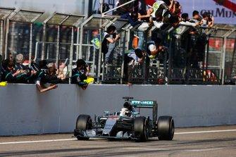 Race winner Lewis Hamilton, Mercedes F1 W06 Hybrid