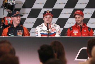 Pol Espargaro, Red Bull KTM Factory Racing, Jack Miller, Pramac Racing, Andrea Dovizioso, Ducati Team