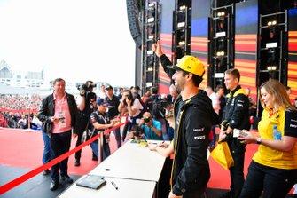 Daniel Ricciardo, Renault F1 Team, meets fans