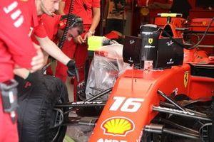 Suspensión delantera del Ferrari SF90