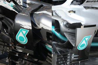 Mercedes F1 AMG W10 detail