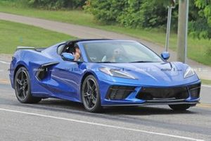 Chevrolet Corvette C8 spy photo