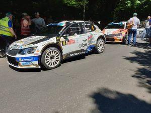 Филип Мареш и Ян Глоушек, ACCR Czech Rally Team I, Skoda Fabia R5