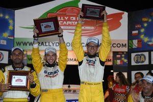 I vincitori Andrea Scalzotto e Daniele Cazzador