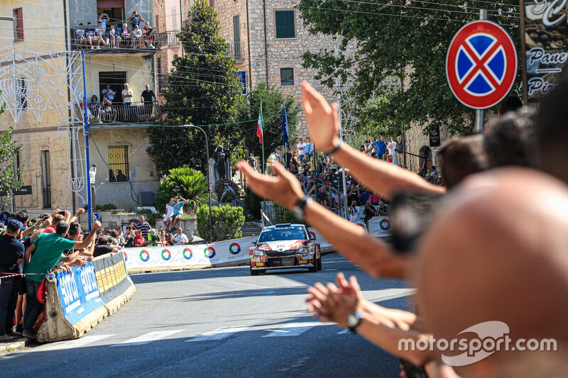 Andrea Crugnola, Pietro Elia Ometto, Skoda Fabia R5, Rally di Roma Capitale, FIA ERC