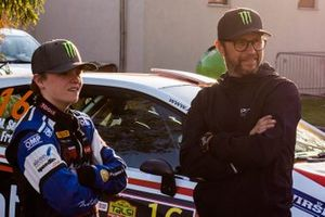 Petter Solberg and Oliver Solberg