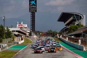 Partenza di gara 2 al TCR Europe: Catalunya