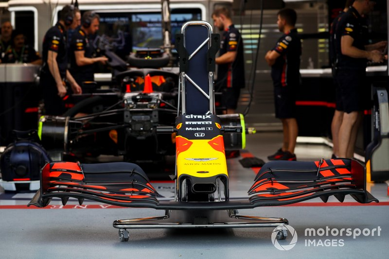 Front wing of Red Bull Racing RB15