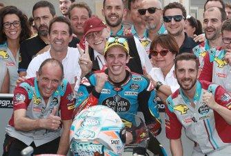 Il terzo classificato Alex Marquez, Marc VDS Racing
