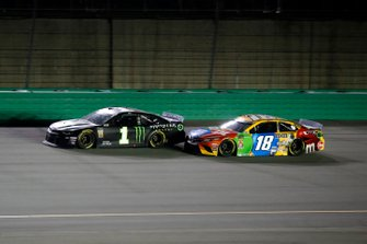 Kurt Busch, Chip Ganassi Racing, Chevrolet Camaro Monster Energy, Kyle Busch, Joe Gibbs Racing, Toyota Camry M&M's Toyota Camry