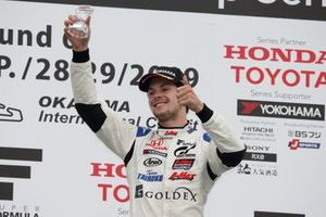 Podium: third place Harrison Newey, B-Max Racing Team