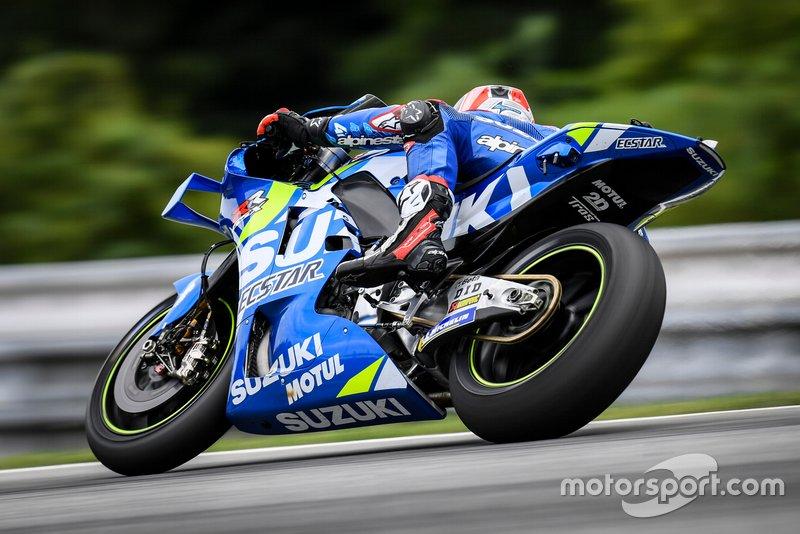 Alex Rins en Joan Mir - Team Suzuki MotoGP