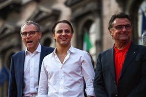 Stefano Domenicali, Felipe Massa y René Arnoux