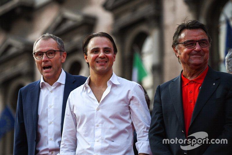 Stefano Domenicali, Felipe Massa, e René Arnoux