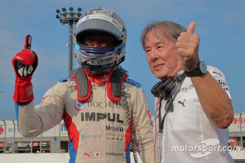 Ryo Hirakawa (EQUIPO ITOCHU ENEX IMPUL), Kazuyoshi Hoshino