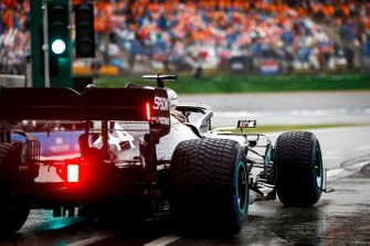 Lewis Hamilton, Mercedes AMG F1 W10, heads to the grid