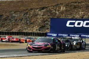 #86 Meyer Shank Racing w/ Curb-Agajanian Acura NSX GT3, GTD: Mario Farnbacher, Trent Hindman