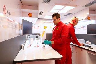 Ferrari Shell track lab