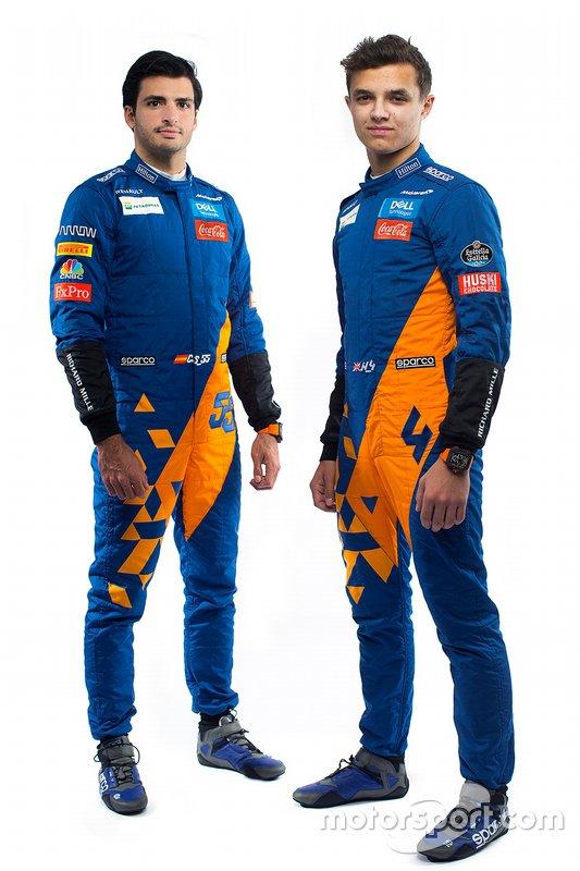 Norris Sainz suit